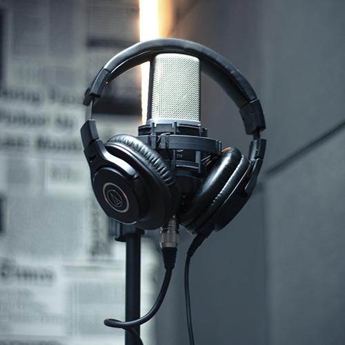 grabación de audio profesional
